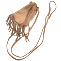 Small Handmade Leather Indian Medicine Bag  30373