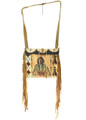 Vintage Indian Parfleche Shoulder Bag Purse 30425