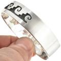 Overlaid Silver Native American Bracelet 30433