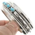Navajo Bracelet Hammered Silver Patterns 0248