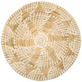 Vintage Papago Indian Swirl Tray Basket 30504
