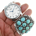 Sleeping Beauty Turquoise Cluster Pattern 30522