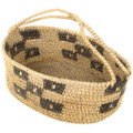 Pima Indian Basket With Handle 30572