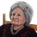 Native American Grandmother Collectible Doll 30584