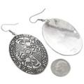 Overlaid Silver Navajo Earrings 30635