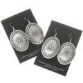 Native American Western Silver Earrings 30636