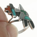 Zuni Inlay Turquoise Ring 30684