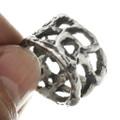 Old Pawn Silver Navajo Ring 30699