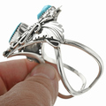 Sterling Silver Navajo Made Turquoise Bracelet 30713