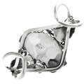 Hand Made Navajo Artist Harry B Yazzie Sterling Silver Bracelet 30713