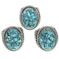 Native American Turquoise Rings 30945