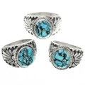 Hand Made Turquoise Rings 30956