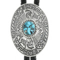Turquoise Silver Bolo Tie 30989