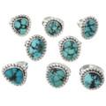 Spiderweb Turquoise Rings 31096