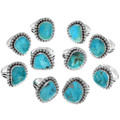 One of a Kind Kingman Turquoise Rings 31113