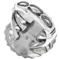 Navajo Hand Made Western Silver Ring 31113