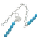 Turquoise Necklace with Swarovski Crystals 31127