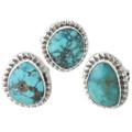 Natural Turquoise Ladies Rings 31131