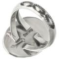 Navajo Sterling Silver Single Stone Design 31144