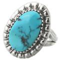 Natural Turquoise Ladies Ring 31144