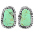 Natural Nevada Turquoise Earrings 31159