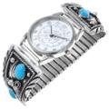 Navajo Turquoise Watch 31202
