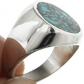 Turquoise Chip Inlay Ring 31213