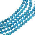 Turquoise Magnesite Round Beads 30842