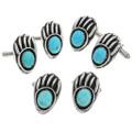 Navajo Turquoise Cuff Links 31225