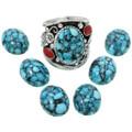 Spiderweb Turquoise Stones 31325