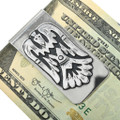 Native American Water Bird Design Money Clip 31333