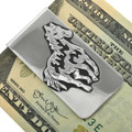 Wild Horse Sterling Silver Money Clip 31337