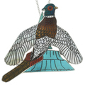Zuni Pendant Inlay Pheasant Design 31341