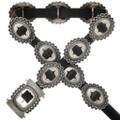 Vintage Silver Concho Belt 31360