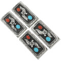 Navajo Made Turquoise Western Money Clip 31407