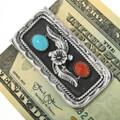 Navajo Turquoise Money Clip 31407