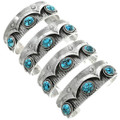 Turquoise Sterling Silver Cuff Bracelet 31408