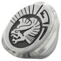 Native American Sterling Silver Eagle Ring 31420