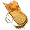 Vintage Fringed Leather Shoulder Bag 31448