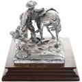 """""""Cold Saddles Mean Horses"""" Fine Pewter Miniature 31454"""