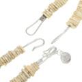 Tribal Chunky Bead Bone Necklace 31480