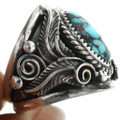 Silver Turquoise Big Boy Mens Ring 31496