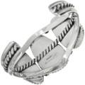 Navajo Made Sterling Silver Cuff Bracelet 31734