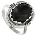 Onyx Silver Ring 31763