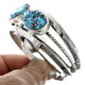 Navajo Made Turquoise Bracelet 31791
