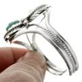 Turquoise Coral Navajo Bracelet 31792