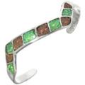 Navajo Fiery Opal Ladies Bracelet 31803