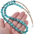 Turquoise Heishi Navajo Necklace 31860