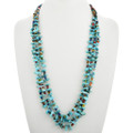 Native American Beaded Turquoise Necklace 31863