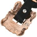 Full Size Copper Metal Western Concho Belt 31880